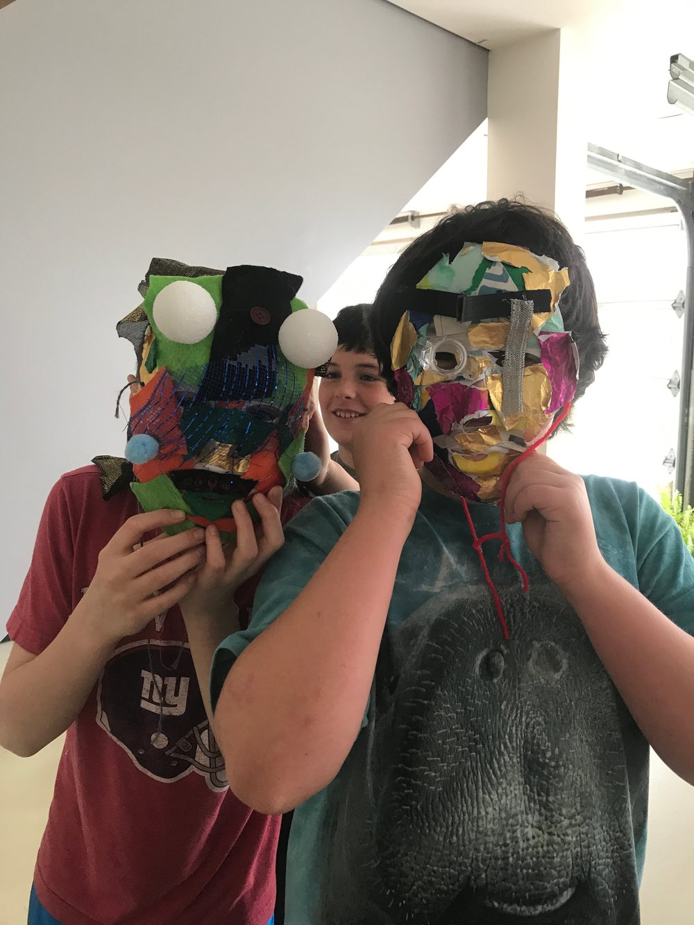 Masks are starting to come together...