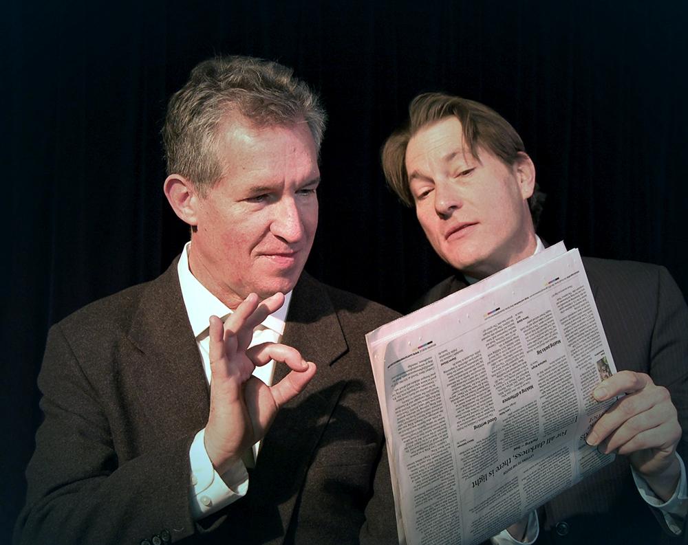 November • Robert Nott and Geoffrey Pomeroy • New Mexico Actors Lab