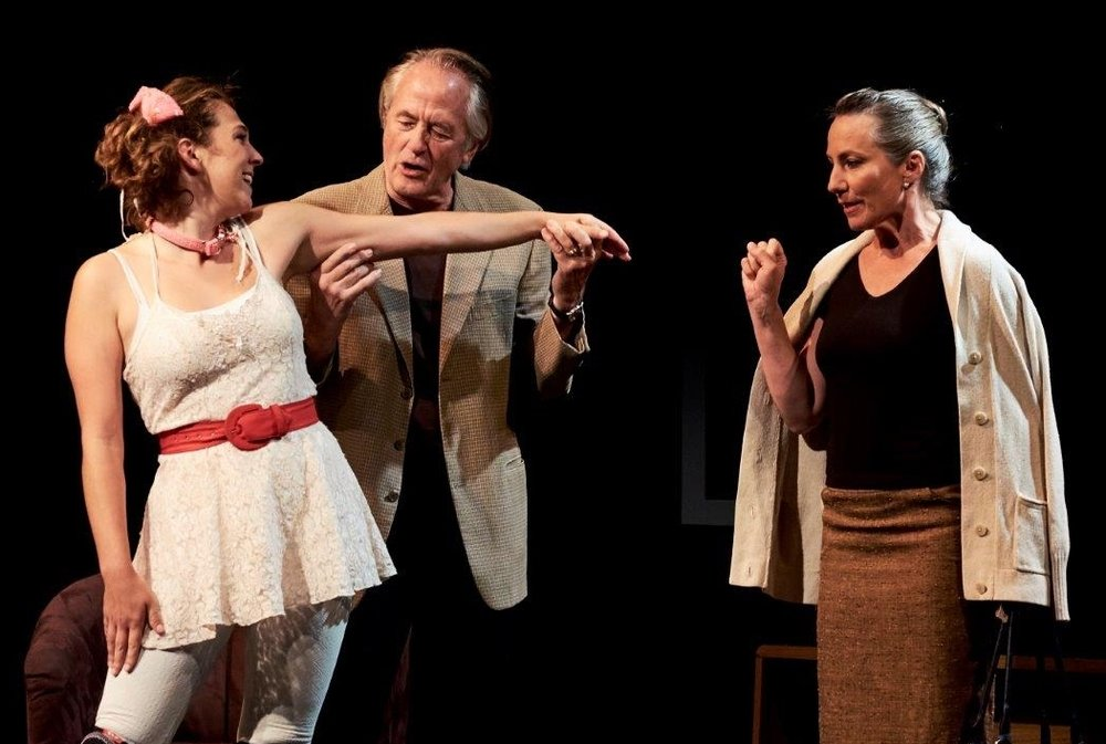 SYLVIA by A. R. Gurney, with Tallis Rose, Jonathan Richards, and Barbara Hatch. 2014