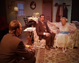 2017 - 1- The Glass Menagerie by Tennessee Williams, directed by Robert Benedetti, with Suzanne Lederer, Geoffrey Pomeroy, Vaughn Irving, and Robyn Rikoon