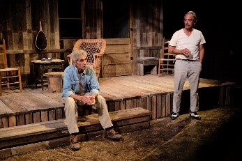 2018 - 3 - Ages of the Moon by Sam Shepard , directed by Robert Benedetti, designed by Argos MacCallum and Robert Benedetti, with Paul Blott and Nicholas Ballas