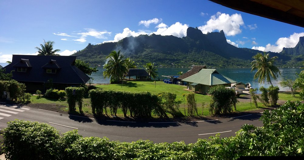 Welcome to the UCB Gump Station on the island of Moorea
