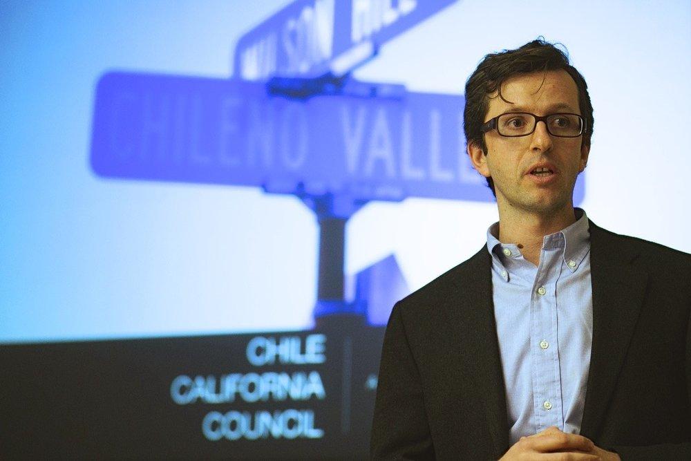 Juan Ibañez, Executive Director of the Chile-California Council.
