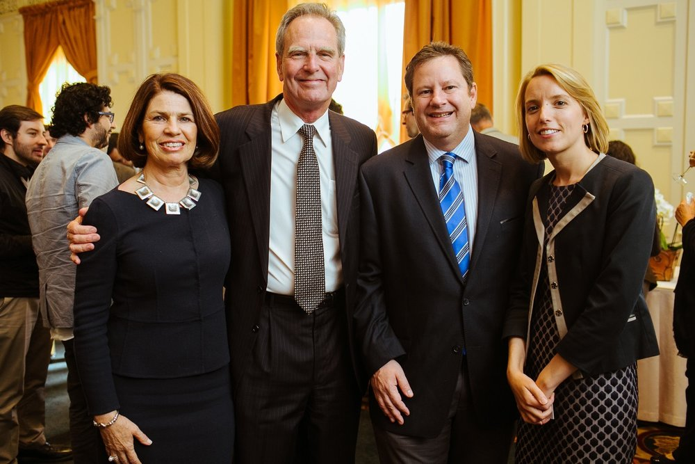 Members of the CCC Board, US Ambassador to Chile Michael A. Hammer and representative of San Francisco's Mayor's Office.