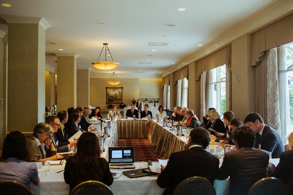 Fourth Annual Board Meeting of the CCC @Fairmont Hotel in San Francisco.