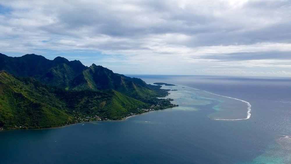 Island of Moorea by Space2Leap.