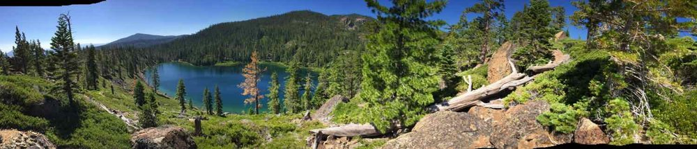 Smith Lake in the Gold Lakes Basin in Plumas County.
