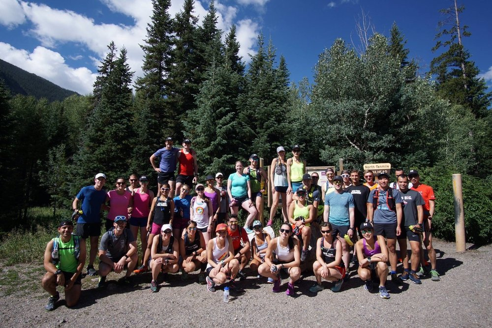 The Harriers took to the mountains of Colorado to get some high altitude training in.