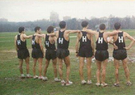 The Harriers Men's Team - Late 1990s