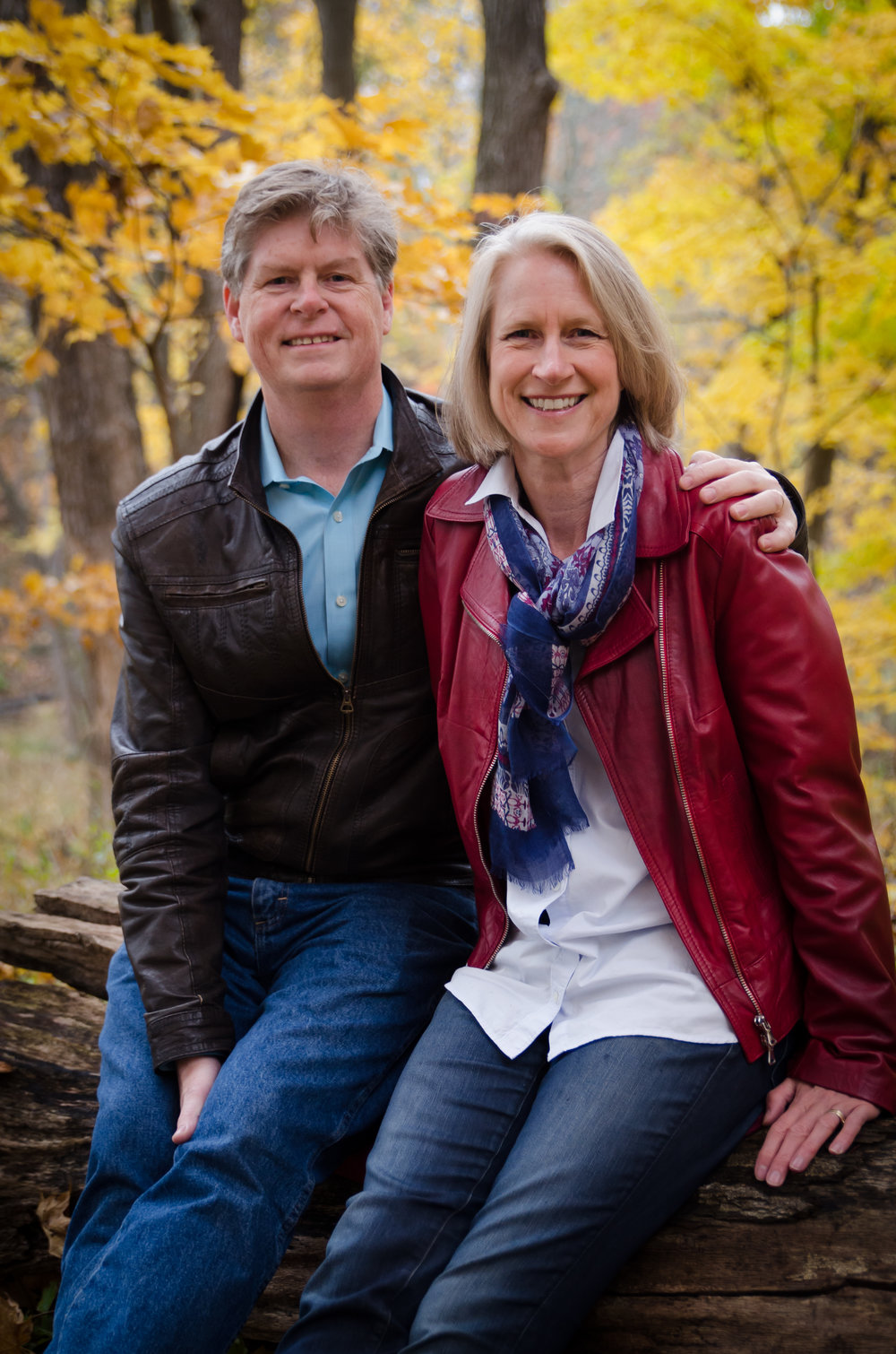 John and Kerry near their home
