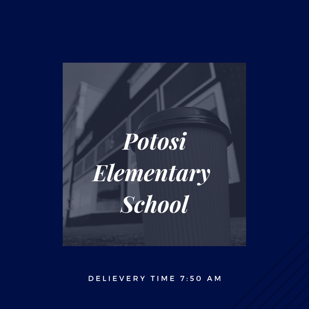 If you are an employee at Potosi Elementary School, please click the picture above to place your order.    *Orders must be submitted before 8pm the evening before.