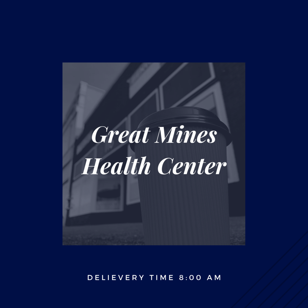 If you are an employee at Great Mines Health Center, please click the picture above to place your order.    *Orders must be submitted before 8pm the evening before.