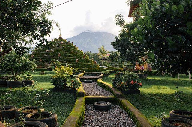 cult like place near Mt Agung