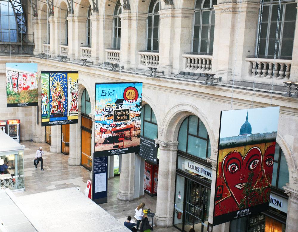 Gare de l'Est Paris - 2015 - SVO Art