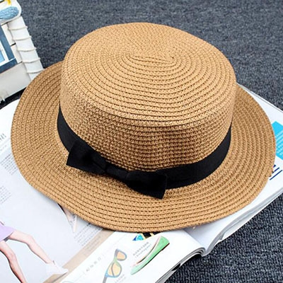 Lady Boater Sun Hat — Summer Ron jewelry   more 068946b957e