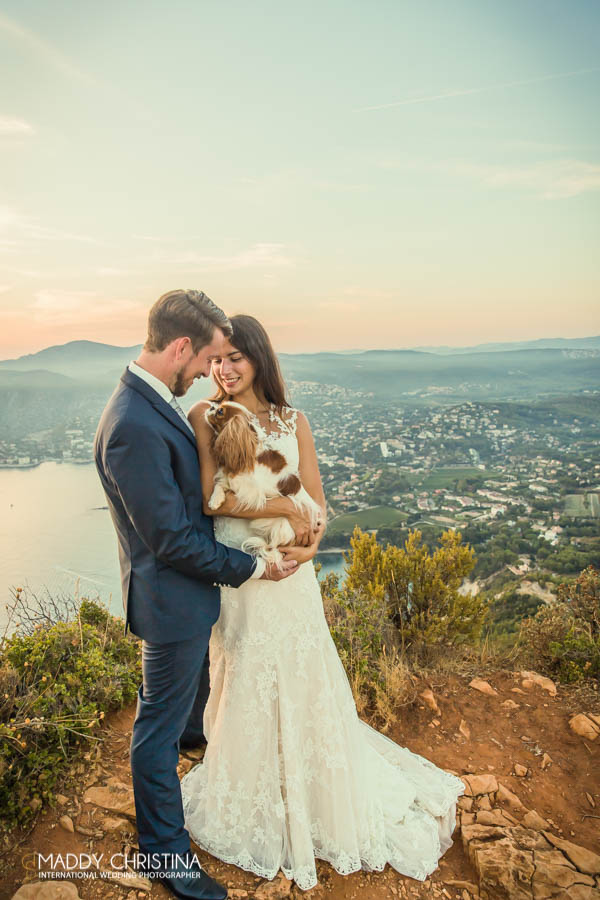 mariage wedding aix en provence marseille sud south of france calanques chien dog