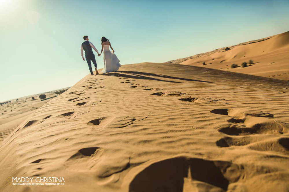 wedding mariage marriage dubai dubaï desert photograph photographer