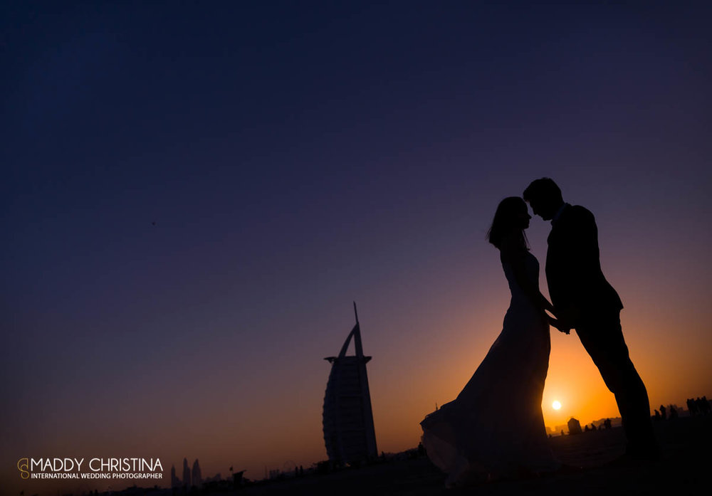 wedding mariage marriage dubai dubaï desert photograph photographer burj al arab