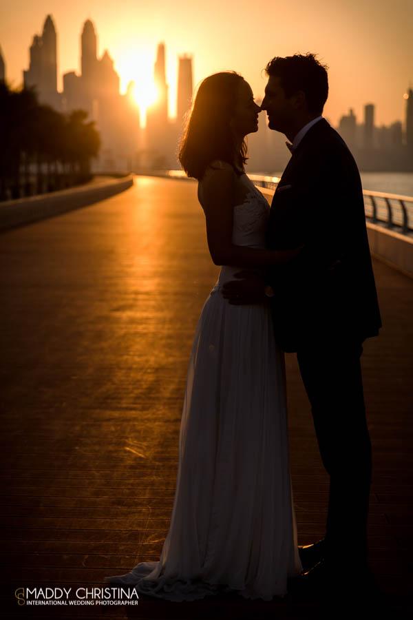 wedding mariage marriage dubai dubaï desert photograph photographer bride shoot the palm