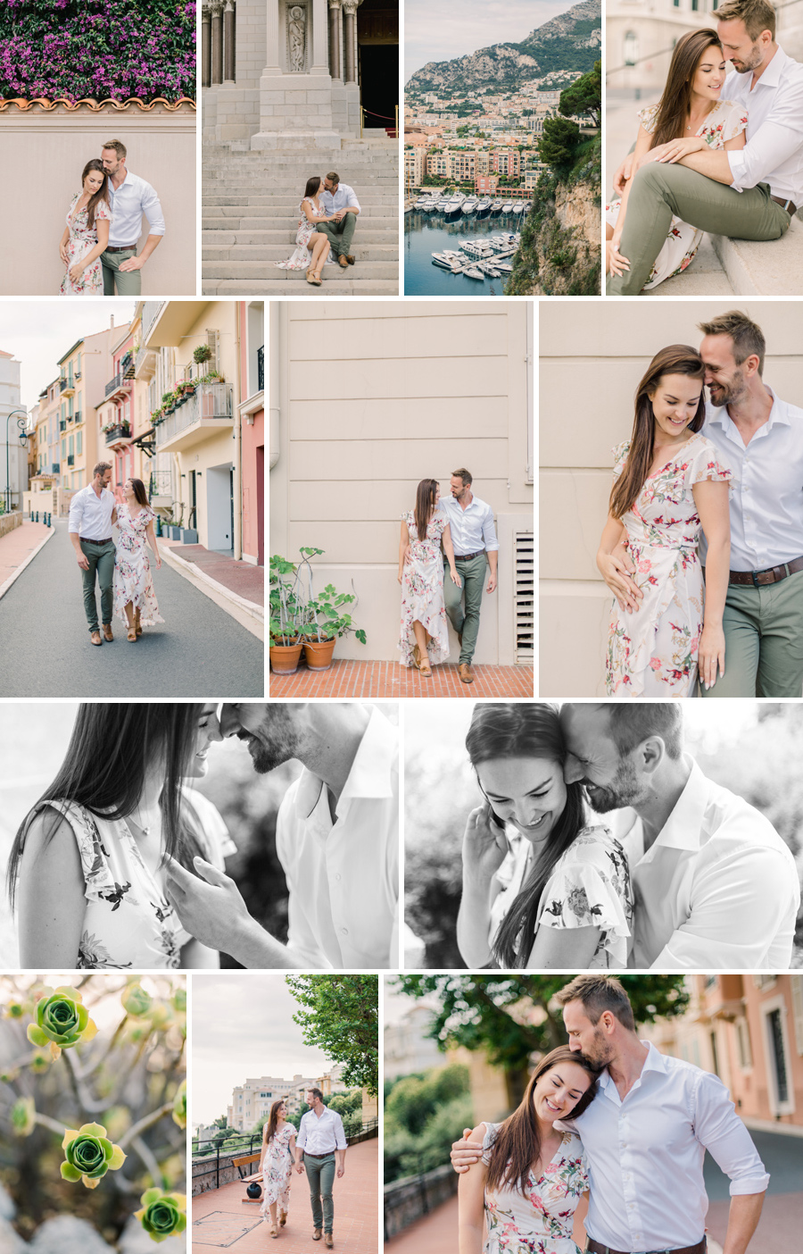 wedding engagement monaco le rocher montecarlo