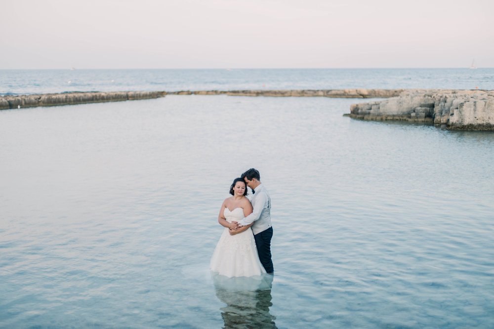 photographe mariage italy italie trash the dress