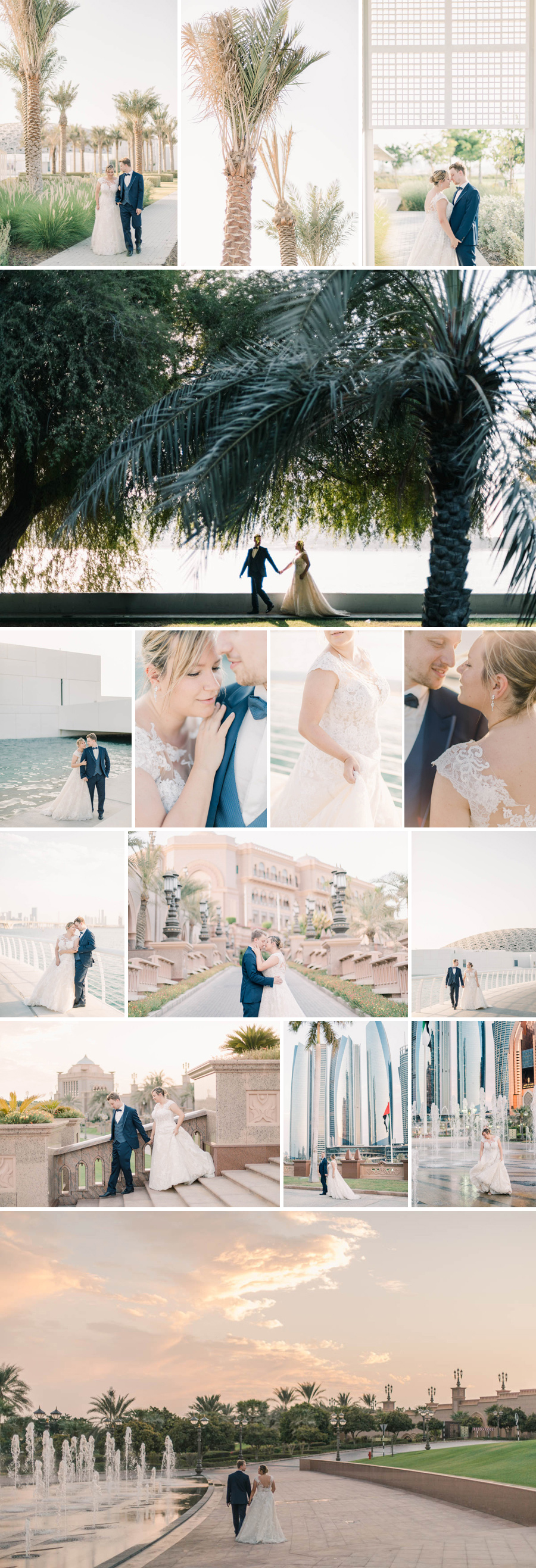wedding photographer abu dhabi emirates palace louvres