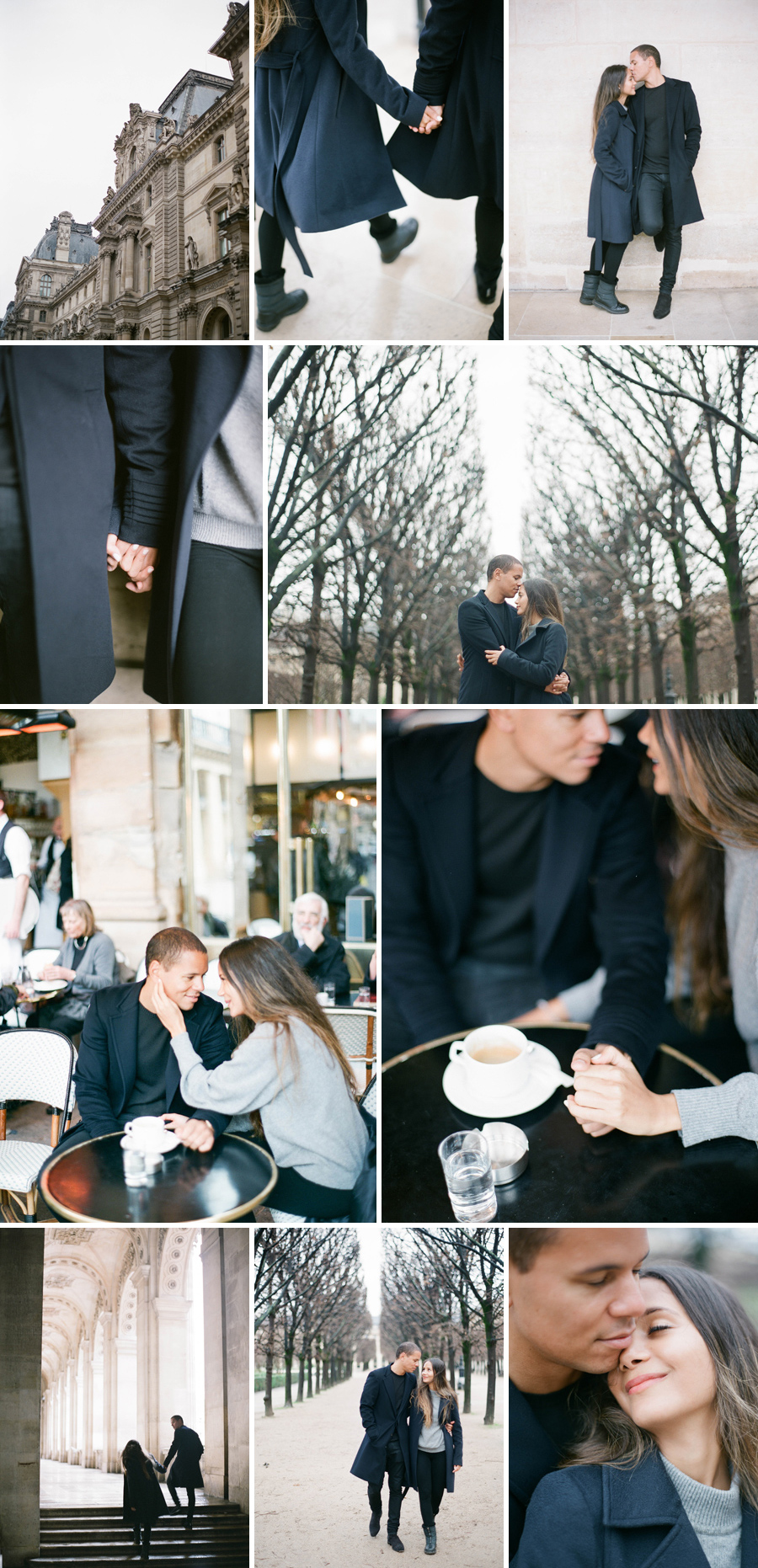 wedding photographer paris engagement elopement