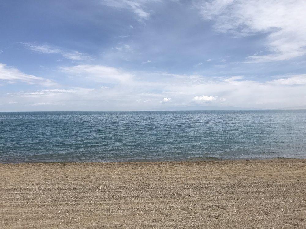 Qinghai Lake, China - July, 2017