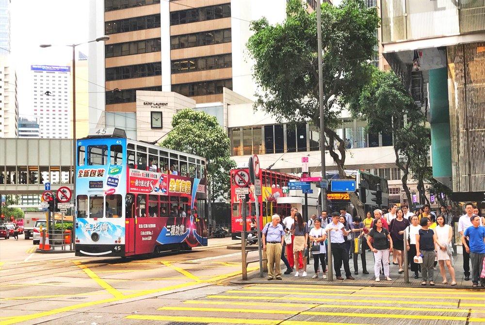 Hong Kong, China - May, 2017