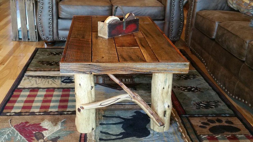 Barnwood U0026 Red Cedar Coffee Table