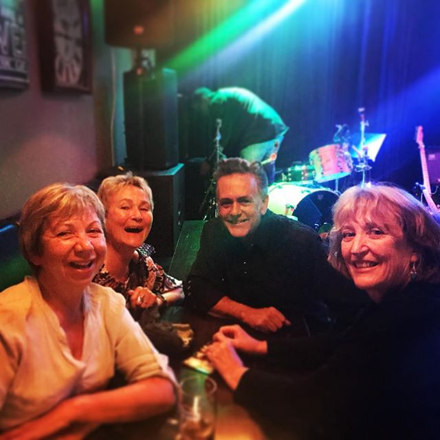 Last night in Sandvika with some cute gals- They were at our show last year! . We will be playing at #herrnilsen In Oslo next Friday at 8pm . . . . #johnnycash #junecartercash#sandvika  #norway #norwaymusic  #johnnyandjune #nationalcashband #folsom #maninblack #cocaineblues #outlawcountry #realcountrymusic #classiccountry #ojai #casitassprings #realcountry  #thewesterncompany #couchguitarstraps #larriveeguitars