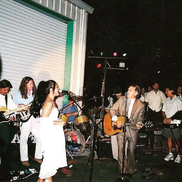15 years ago we got married in a fever. #happyanniversary #johnnycash #reallifejohnnyandjune #marriedmybff #love