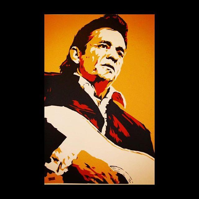 Happy Birthday Johnny Cash. 🖤🖤🖤🖤🖤🖤🖤🖤🖤🖤 . . . . #johnnycash #junecartercash #norway #johnnyandjune #nationalcashband #folsom #maninblack #cocaineblues #outlawcountry #realcountrymusic #classiccountry #ojai #casitassprings #realcountry  #thewesterncompany
