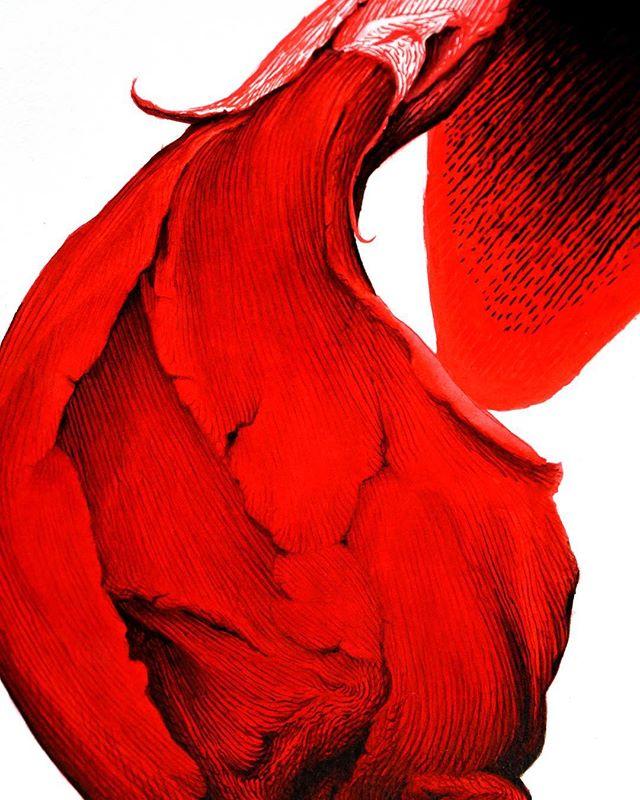 """""""Pellizquito"""" (fragmento) de @jesuszurita_oficial para @eldevenir Art Gallery. Acrílico y tinta sobre papel 250 g. 100 x 70 cm. Descubre la imagen completa y más info en www.eldevenir.com . . . . . . . . . . . . . #eldevenirartgallery #eldevenir #mariarosajurado #jesuszurita #art #artonline #collector #artgram #artforsale #contemporaryart #artlovers #draws #igersmalaga #illustrateur #photographer #blossom #trees #birds #ink #deco #decor #stone #artinmalaga #artinspain #nyc #berlin #atlanta #tokyo #london #東京"""