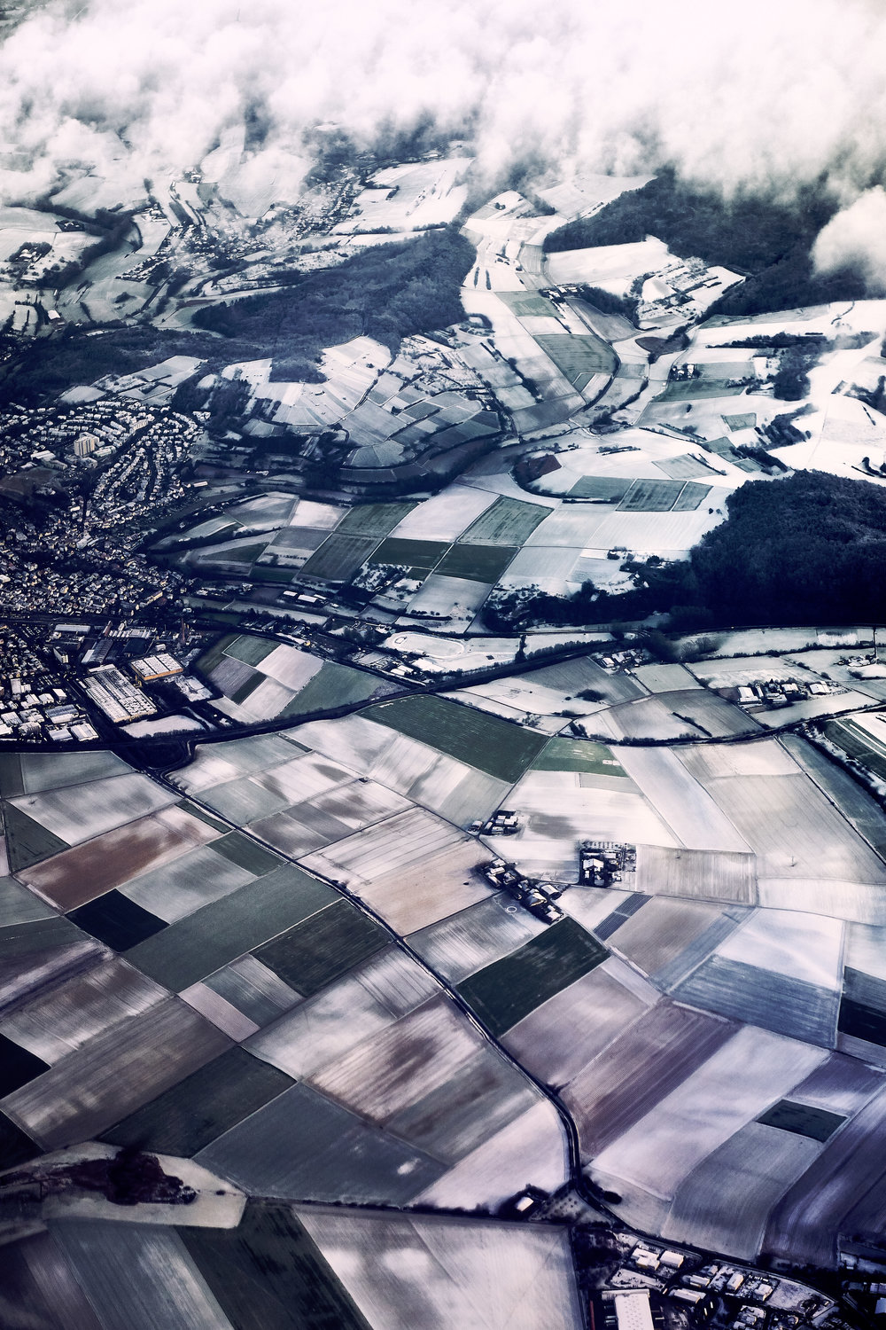 Wintertime over Germany
