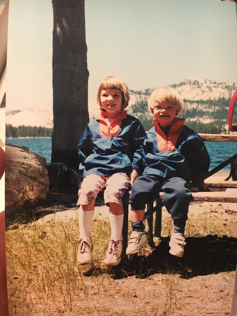 Back from an old trip to Yosemite when we were younger
