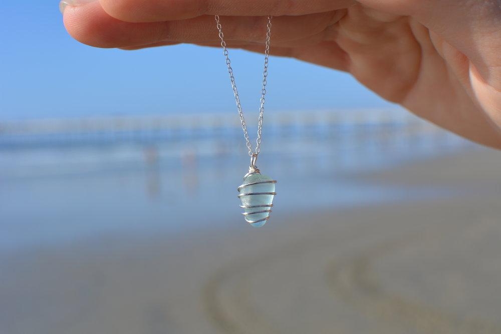 Del Mar Necklace- Sterling Silver