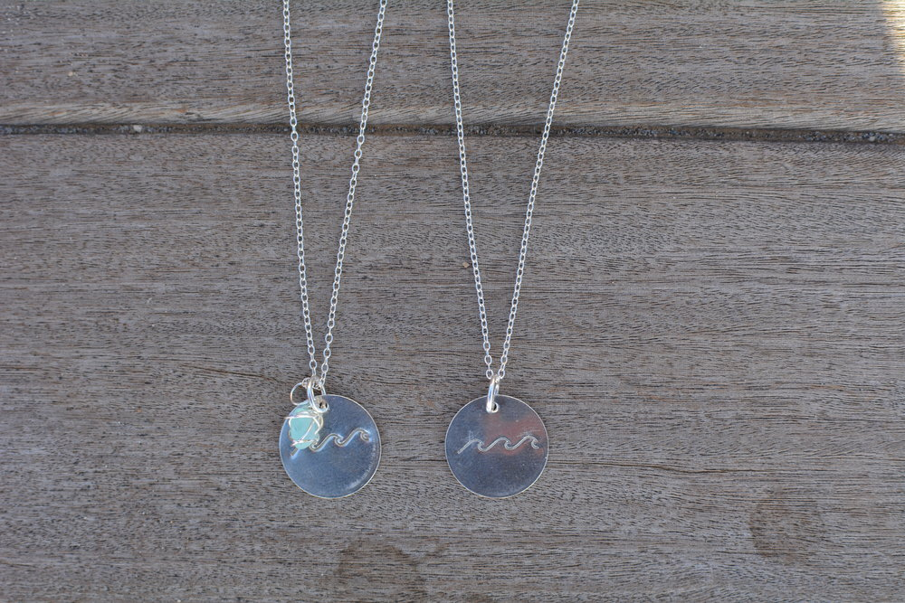 Shores Necklace- Sterling Silver