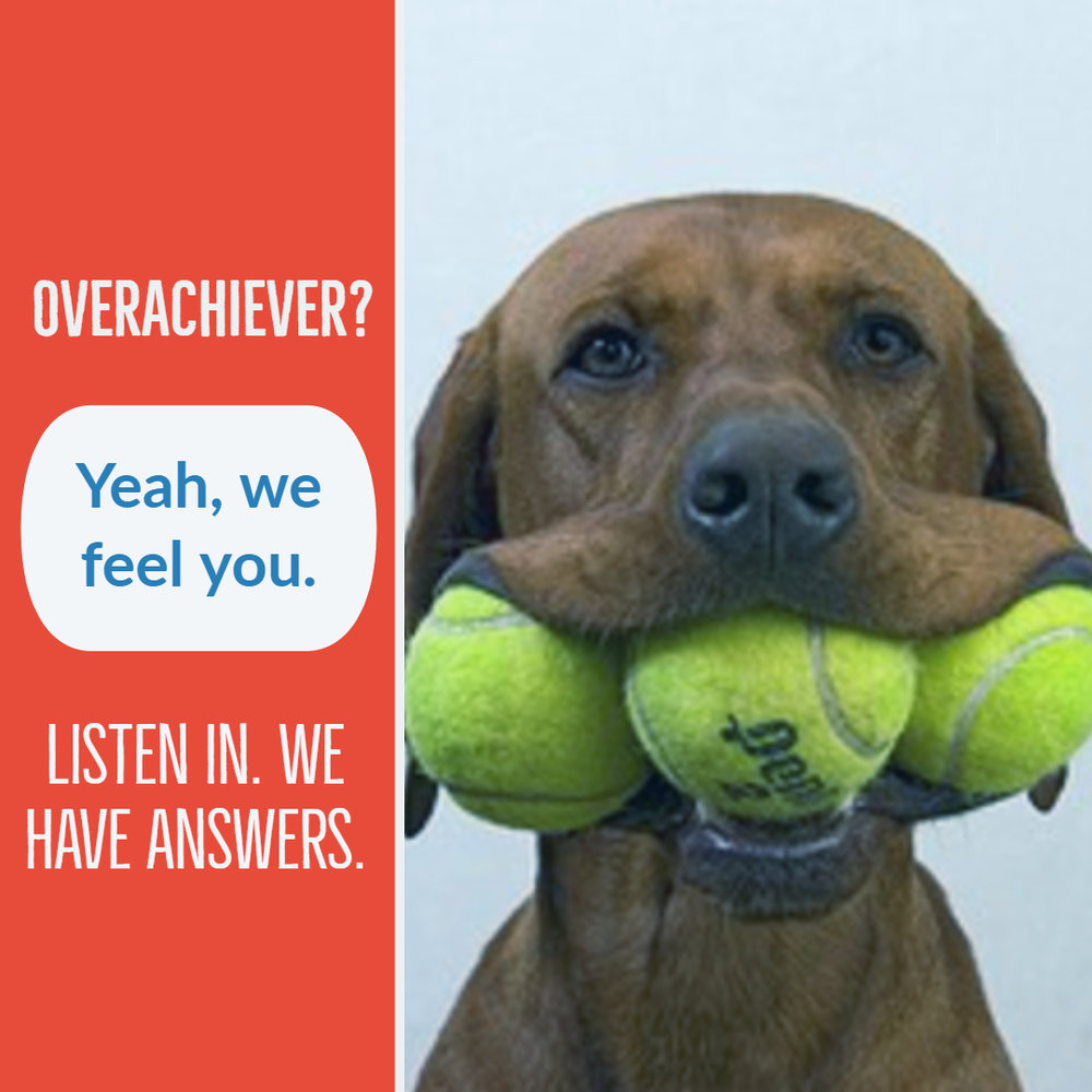 Katie Goodman Podcast Overachiever Self-Help