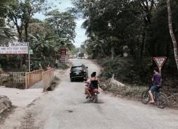 the bridge - slows traffic