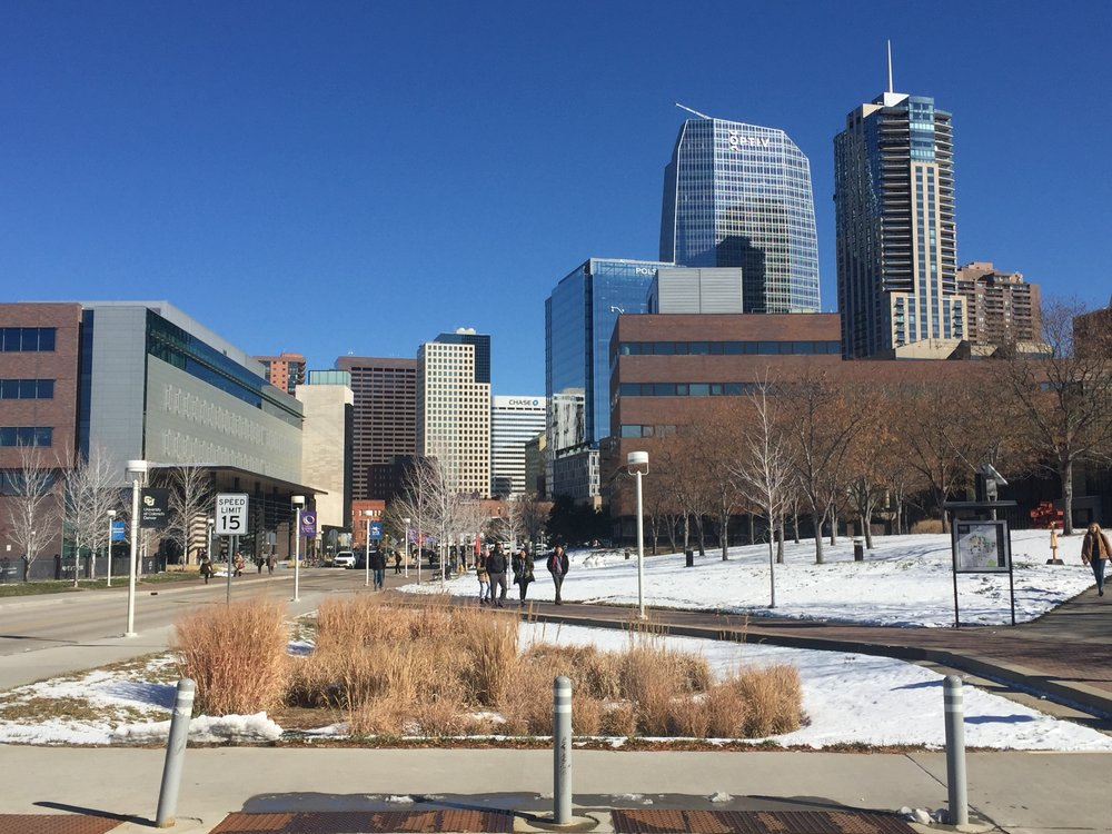 The context of downtown gives CU Denver a unique character