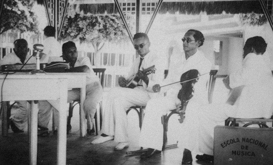 Foto: Luiz Heitor Corrêa de Azevedo, 1943. Laboratório de Etnomusicologia/UFRJ, Coleæão LHCA.