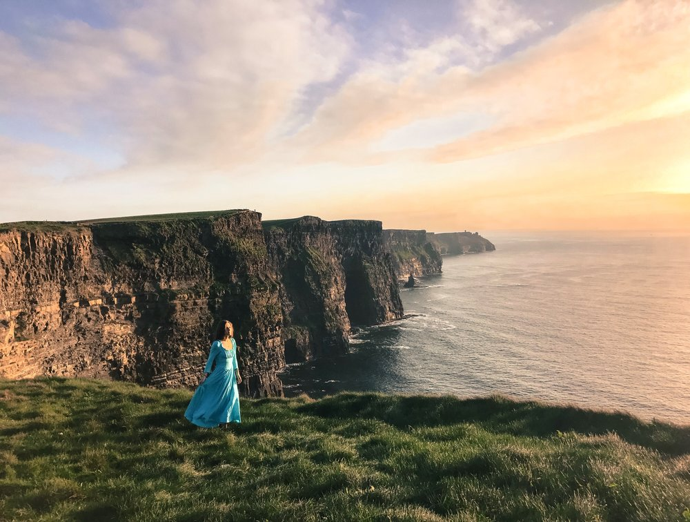 February/March in Ireland may be a little chillier than summer months, but you'll have complete privacy at some of the most popular tourist locations in the world