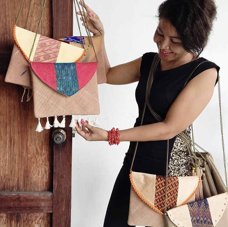 A major project during my time in Bangkok was working with the women of The Well to create a line of stunning, one-of-a-kind Thai silk clutch purses and earrings.  Contact me  if you are interested in purchasing one of these beautiful pieces. Online shop coming soon.