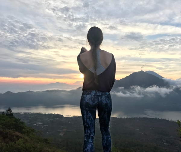 One of my favorite experiences in Bali was a sunrise volcano hike up Mount Batur. The scenery was stunning, there were monkeys everywhere, and I got a great workout out in before returning to my hotel by 9:30am!