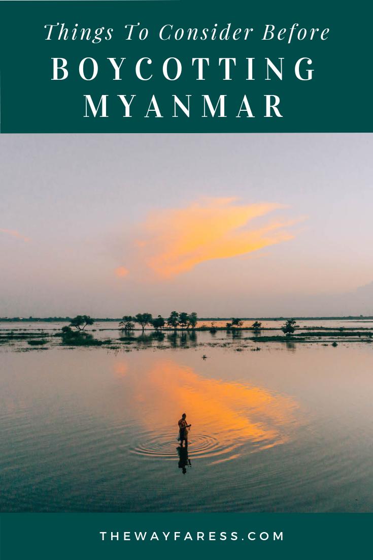 Understanding the Myanmar Tourism Boycott