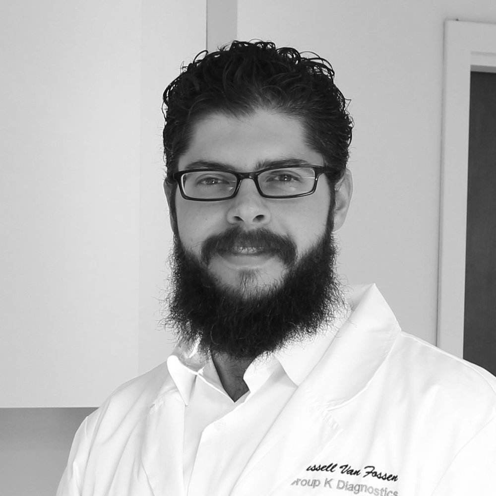 Russell manages GKD's manufacturing processes, cGMP, and R&D progress. He began his career at Roche Molecular Systems and has over 5 years of experience with cGMP and FDA regulations, as well as with process improvement and process development. Russell has a BA in Biology from the Honors College at Rutgers University- Camden and spent time working for the Fire Department of New York City before relocating to Philadelphia.