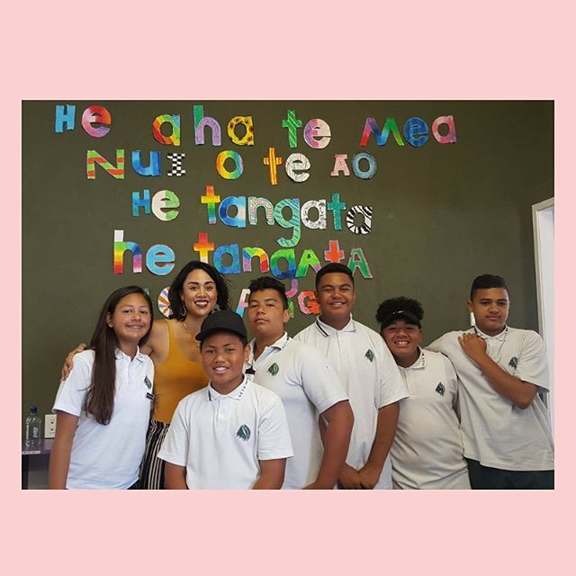 Inspiring Mana Wāhine 〰️ J'Aime has formed a group at her school called 'Empowering Young Women to Lead Change' where young girls are in control of educating and empowering themselves to take on key issues that affect their lives. - How uplifting is this for our young girls 🙌🏾 xxx