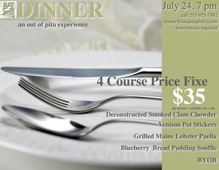 Dinner Invite FB