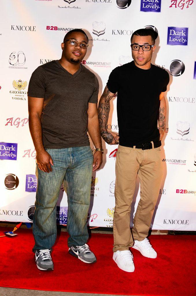 Cory Harris and Taimon Hector